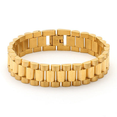 gold rolex watch link 15mm stainless steel bracelet