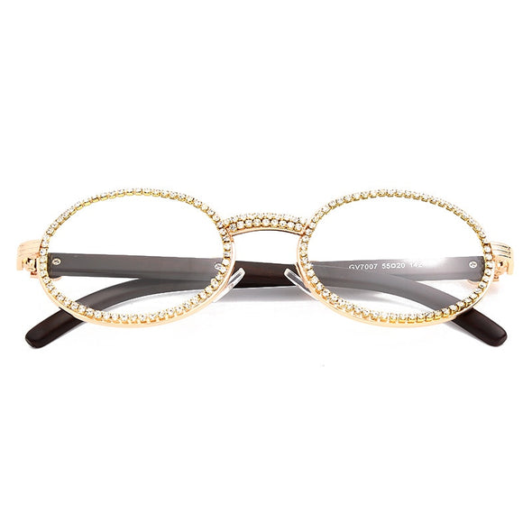 QUAVO Sunglasses in Gold