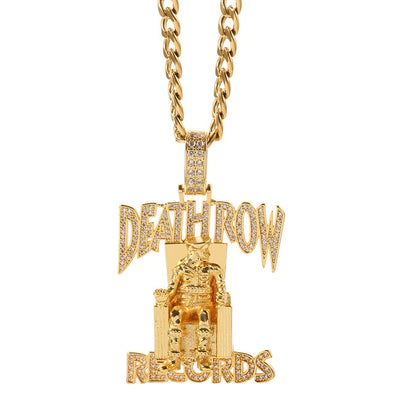 Urban Iced Records Necklace