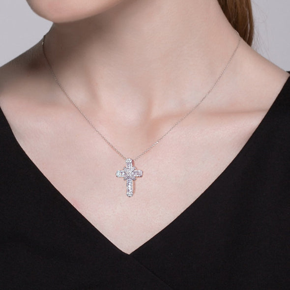 Iced Cross Necklace