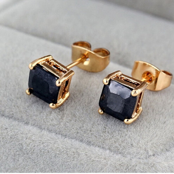 Princess Onyx Earrings