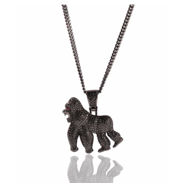 Iced Gorilla Necklace