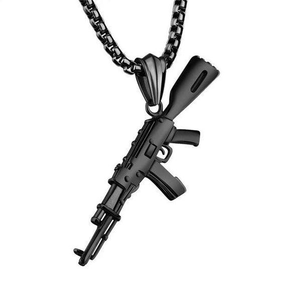 AK-47 Rifle Necklace