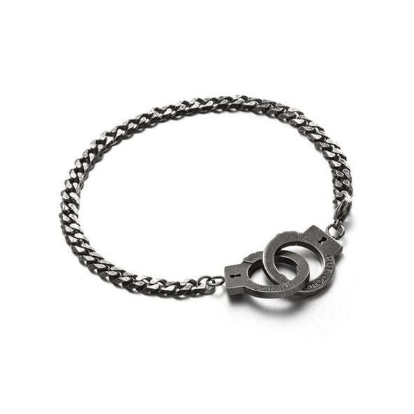 Handcuff Couple Cuban Bracelet