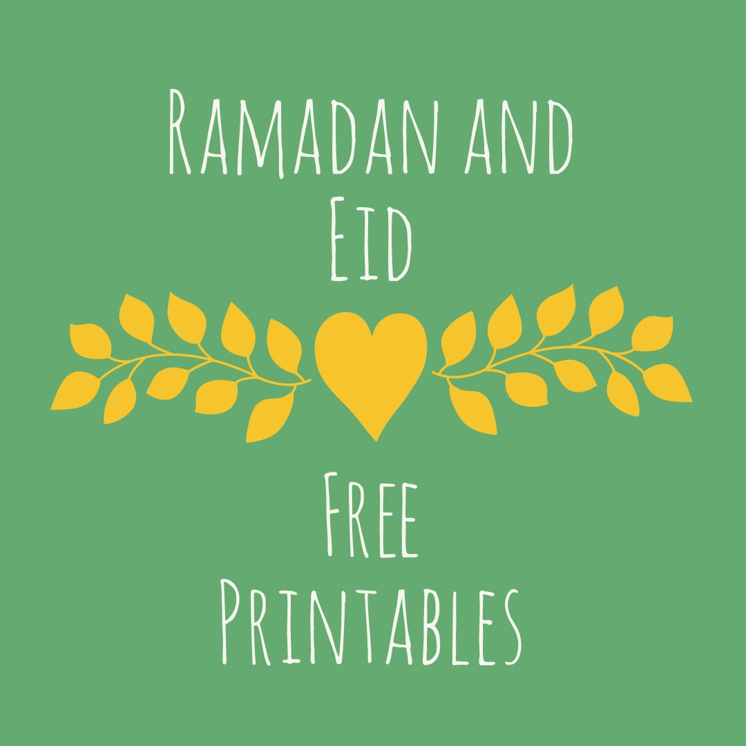 Ramadan and Eid Free Printables