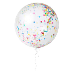 Giant Multi-Color Confetti Balloon Kit