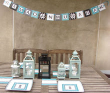 Load image into Gallery viewer, DIY Lantern Damask Banner