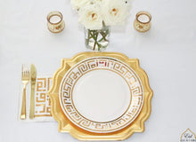 Load image into Gallery viewer, Ramadan Kufi Design Dinner Plates