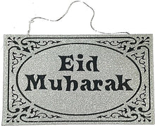 Load image into Gallery viewer, Eid Mubarak Hanging Sign