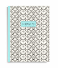Load image into Gallery viewer, Bismillah Geometiric Print Notebook