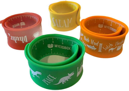 Islamic Silicone Slap Bands- Eid Gifts