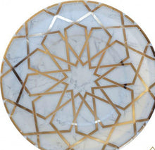 Load image into Gallery viewer, Marble Arabesque Dinner Plates