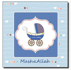Masha Allah baby boy/girl card
