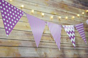 Mix Pattern Triangle Flag Bunting