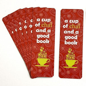 Tea Lover Bookmark
