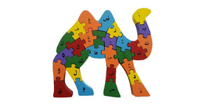 Alphabet Camel Puzzle Toy (Arabic and English)