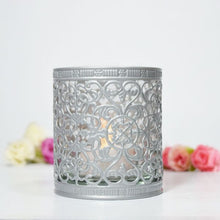 Load image into Gallery viewer, Decorative Metallic Candle Holder