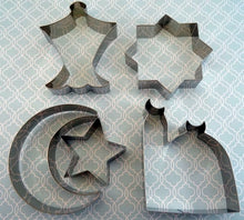 Load image into Gallery viewer, Islamic Shape Cookie Cutters (Set of 5)