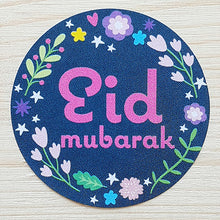 Load image into Gallery viewer, Floral Eid Mubarak Stickers