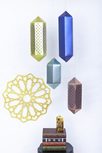Islamic Geometric hanging lanterns