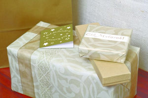 Gold Swirl Gift Wrap & Enclosure Cards