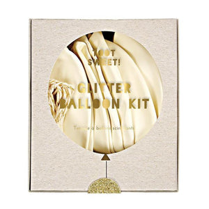 Glitter Gold Balloon Kit