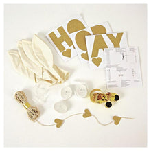 Load image into Gallery viewer, Glitter Gold Balloon Kit