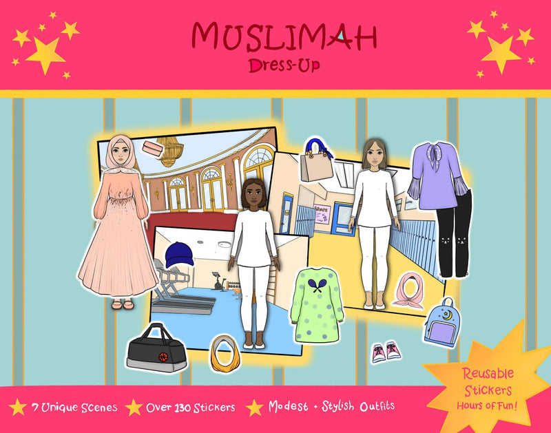 Muslimah Dress Up Sticker Set