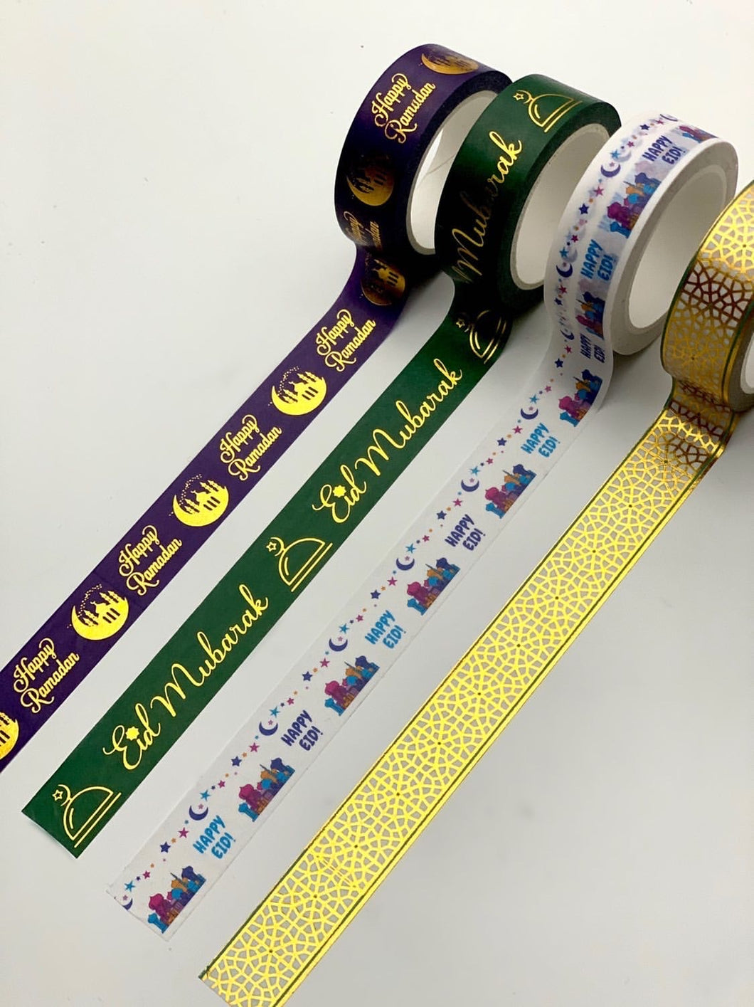 Eid Mubarak/ Happy Ramadan Washi Tape