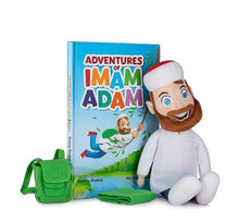 Load image into Gallery viewer, Adventures of Imam Adam- Toy and Book