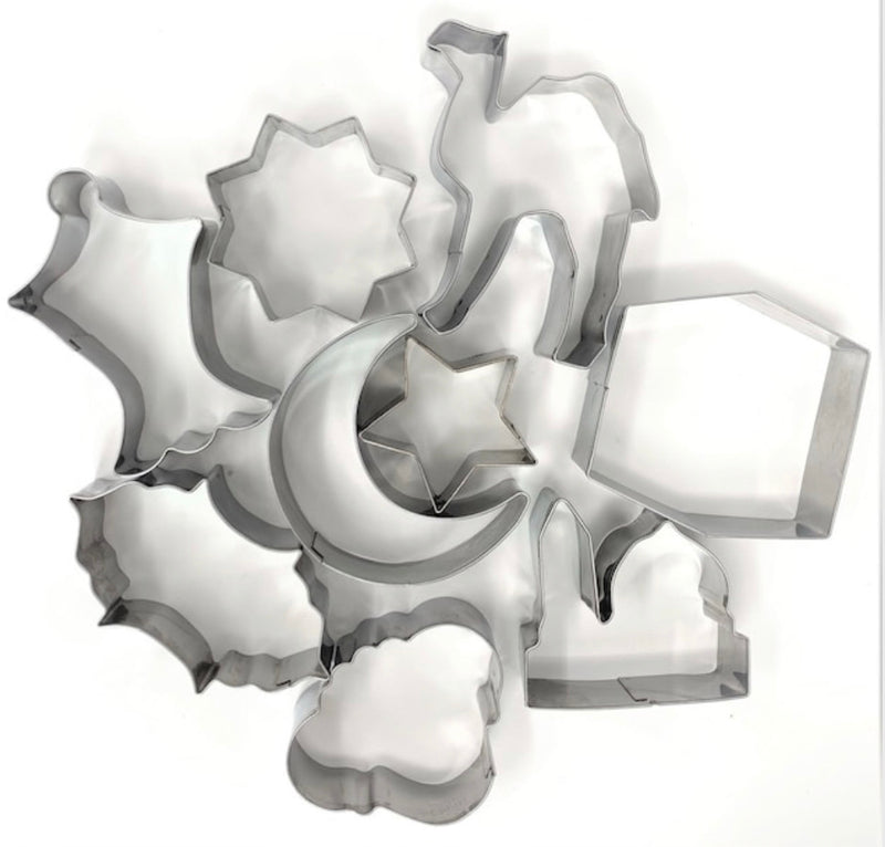 Islamic Shape Cookie Cutters (set of 9)