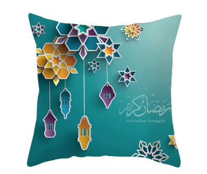 Ramadan Kareem Green Pillow Case