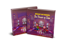 Load image into Gallery viewer, Mikael and Malaika The Power of Dua - A children's picture book about the concept of dua