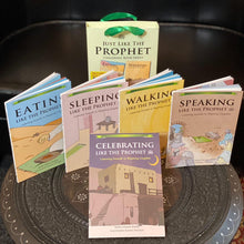 Load image into Gallery viewer, Just Like The Prophet: 40 Prophetic Traditions in Poetic English Gift Set (5 Books)