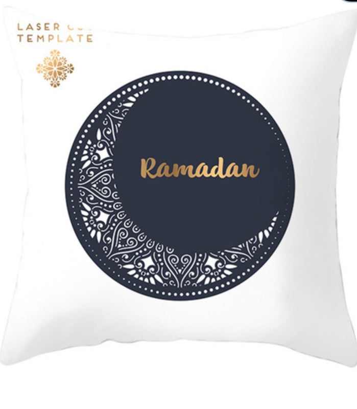 Ramadan Crescent Moon Pillow Case
