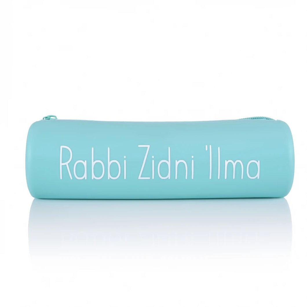 Rabbi Zidni Ilma Islamic Reminder Pencil Case