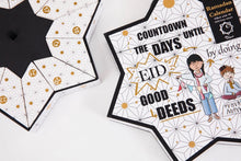 Load image into Gallery viewer, Countdown to Eid Good Deeds Calendar