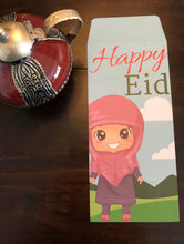 Load image into Gallery viewer, 10 Happy Eid Mubarak Money Envelopes(Laila)