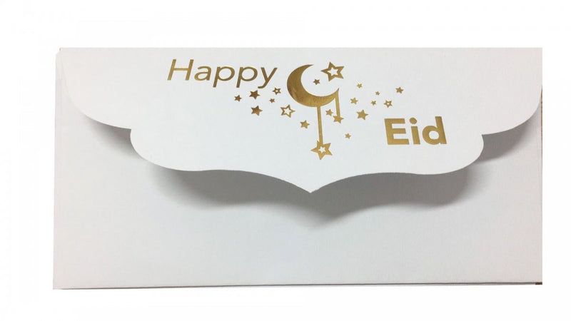Happy Eid Money Envelopes Pack of 8