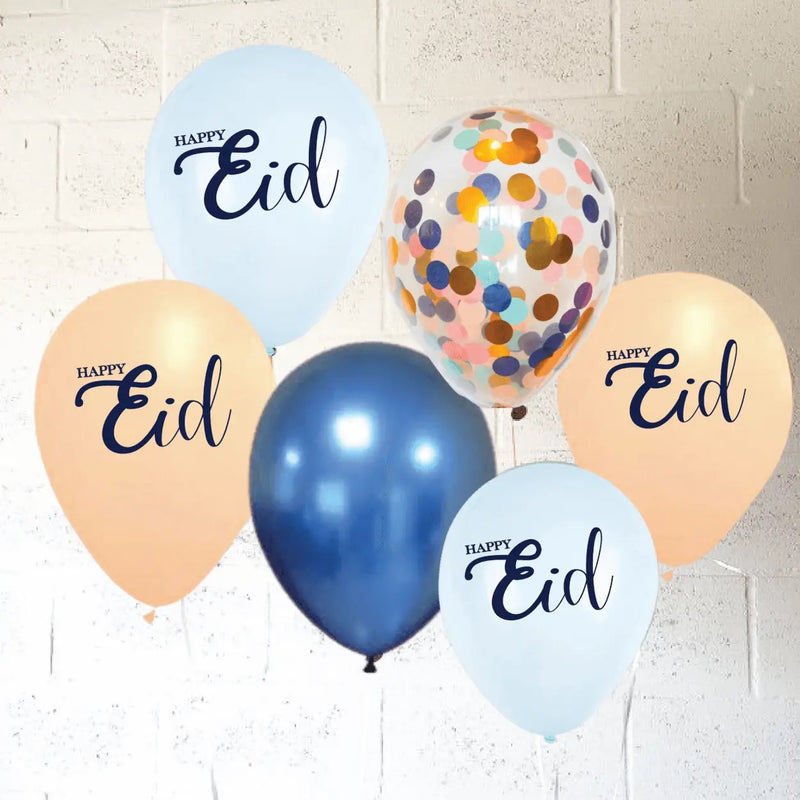 Eid Mubarak Balloon Set- Pastel Design