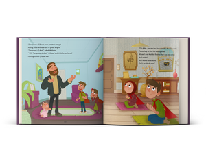 Mikael and Malaika The Power of Dua - A children's picture book about the concept of dua