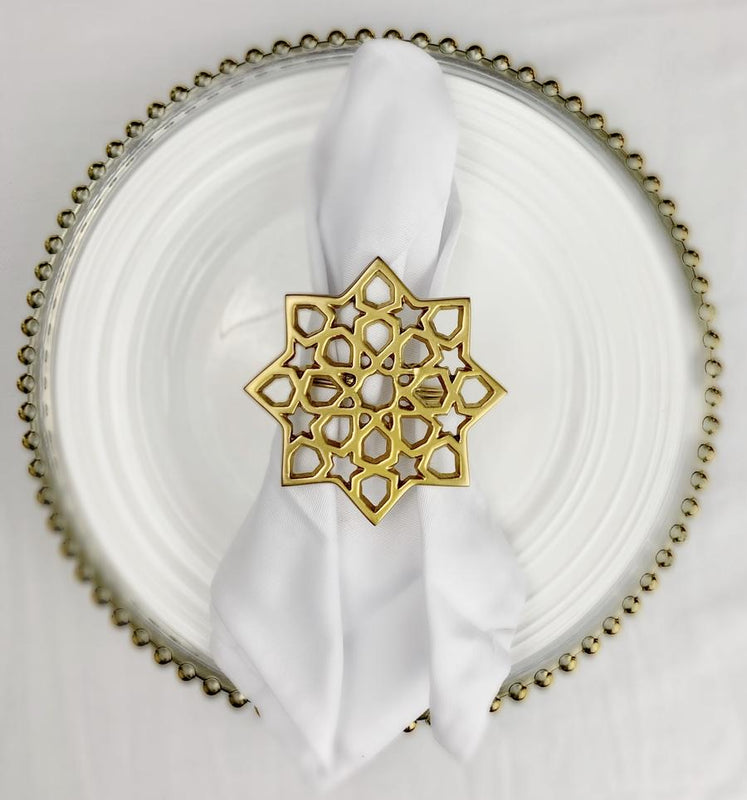 Arabesque Napkin Rings