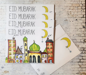 Eid Money Envelopes- Mosque
