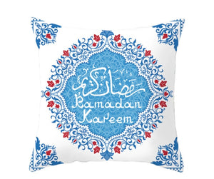 Ramadan Kareem Blue Pillow Case