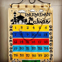 Load image into Gallery viewer, Ramadan Countdown Hanging Calendar