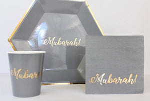 Mubarak Bundle Set- Smoky Gray