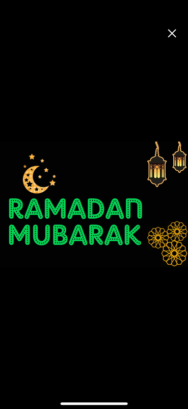 Ramadan & Eid Indoor/Outdoor Projector Lights