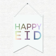 Load image into Gallery viewer, Happy Eid Wall Hanging Banner