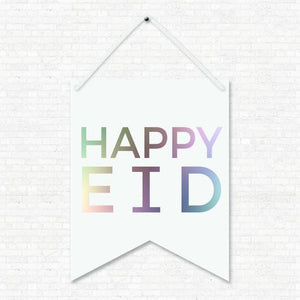 Happy Eid Wall Hanging Banner