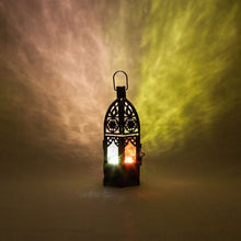"Load image into Gallery viewer, 8""Moroccan Lantern Candle/tea light holder"